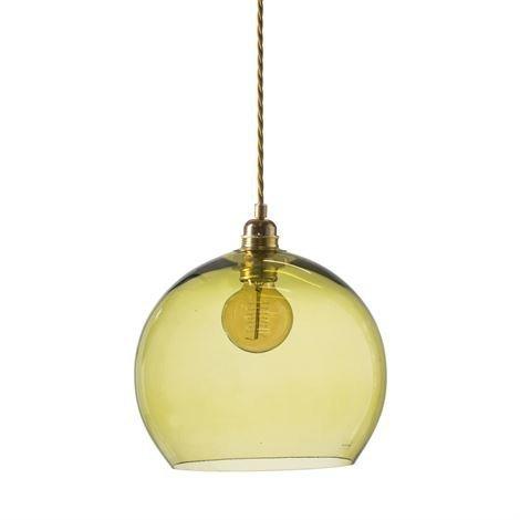Ebb & Flow Rowan Kattovalaisin L Ø 28 cm Olive
