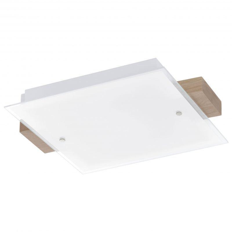 Eglo Katto- ja seinävalaisin LED VILAR tammi
