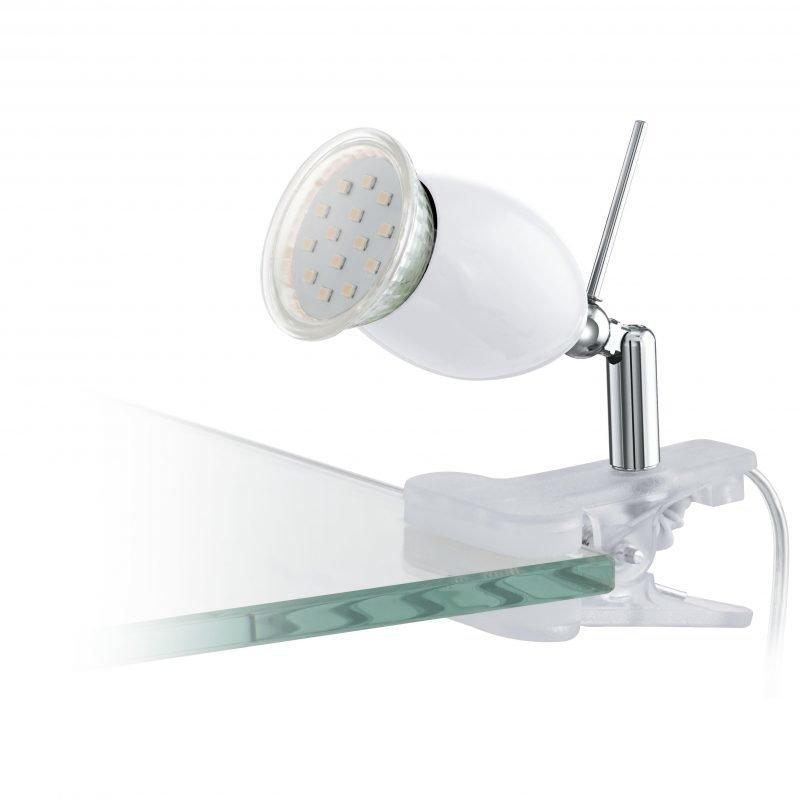 Eglo Klipsispotti LED BANNY 1 valkoinen
