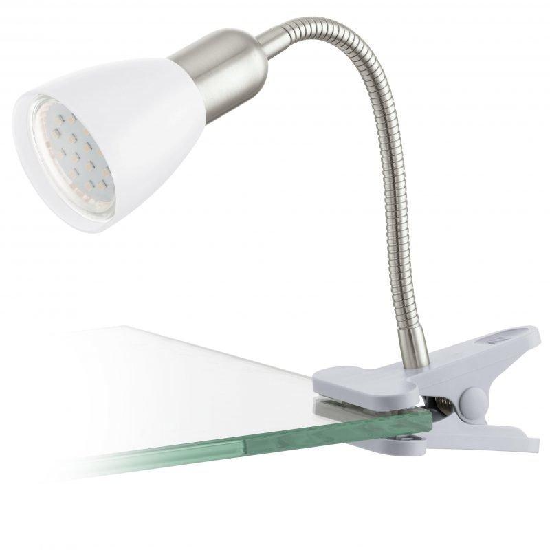 Eglo Klipsispotti LED DAKAR 3 valkoinen