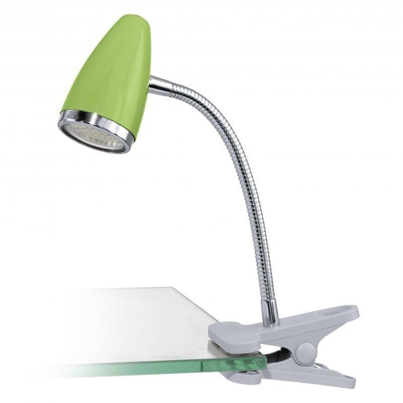 Eglo Klipsispotti LED RICCIO 1 vihreä