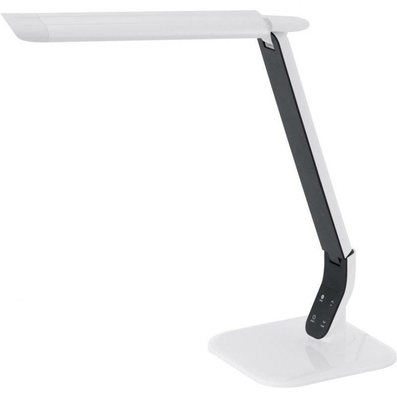 Eglo LED-Pöytävalaisin Sellano valkoinen kosketushimmennin