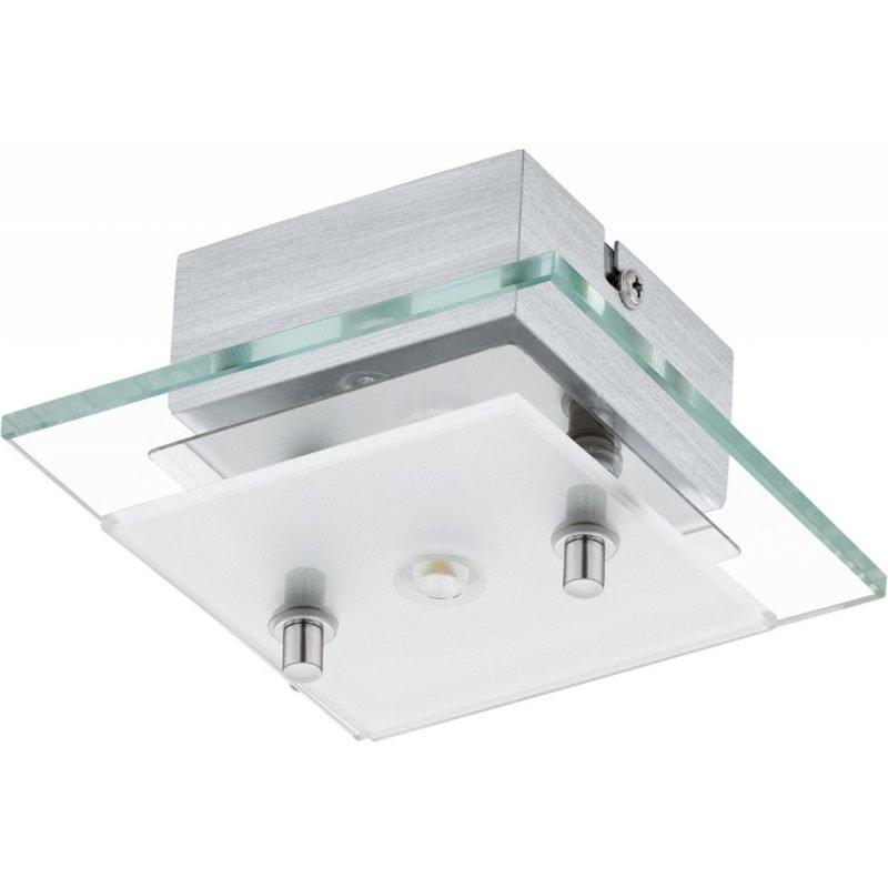 Eglo LED-plafondi Fres 2 125x125x65 mm kirkas/valkoinen/kromi