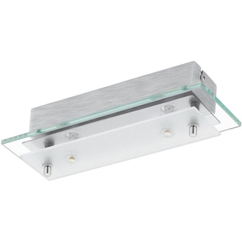 Eglo LED-plafondi Fres 2 2-osainen kirkas/valkoinen