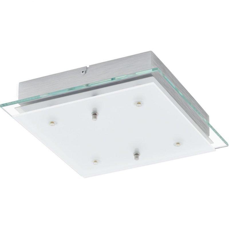 Eglo LED-plafondi Fres 2 290x290x70 mm cm kirkas/valkoinen/kromi