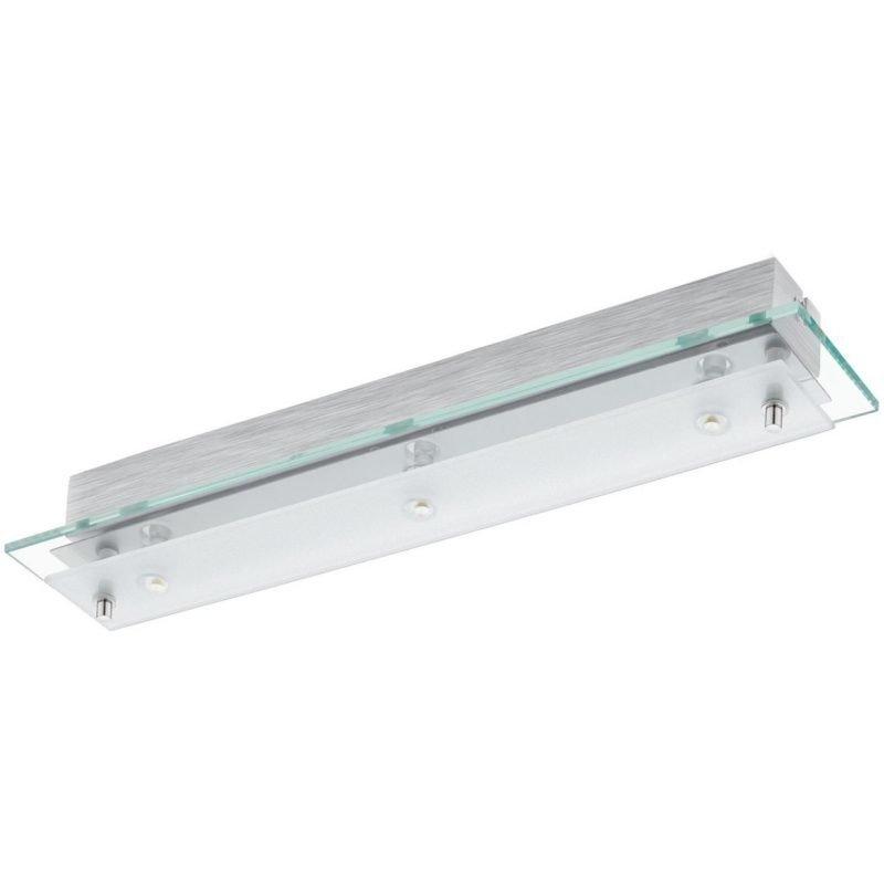 Eglo LED-plafondi Fres 2 3-osainen kirkas/valkoinen