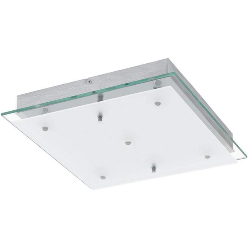 Eglo LED-plafondi Fres 2 5-osainen 38x38 cm kirkas/valkoinen