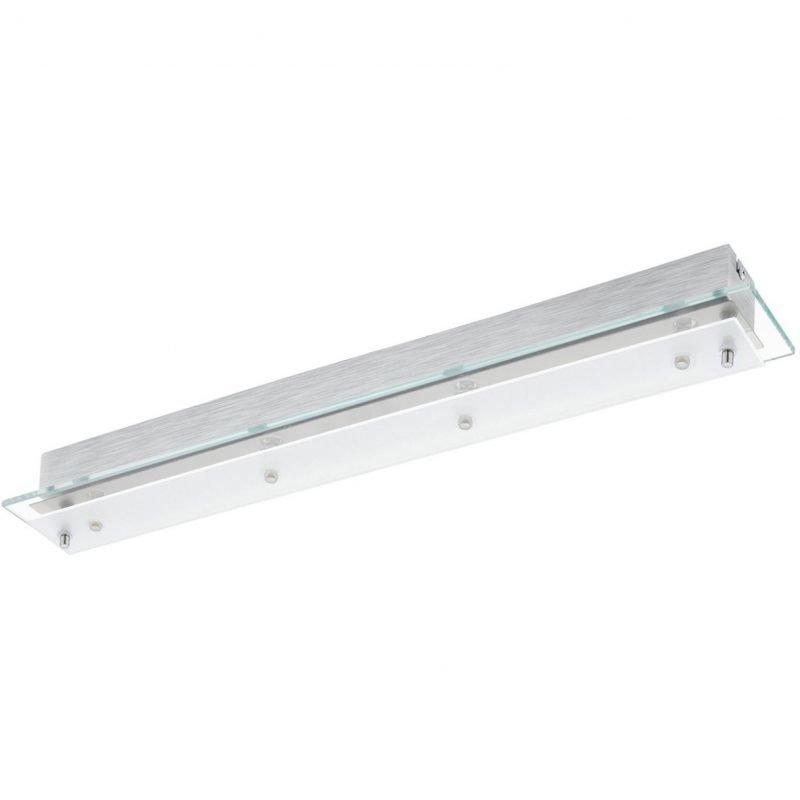 Eglo LED-plafondi Fres 2 650x85x70 mm kirkas/valkoinen/kromi
