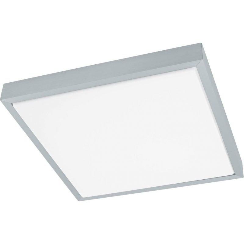 Eglo LED-plafondi Idun 1 38x38 cm alumiini valkoinen