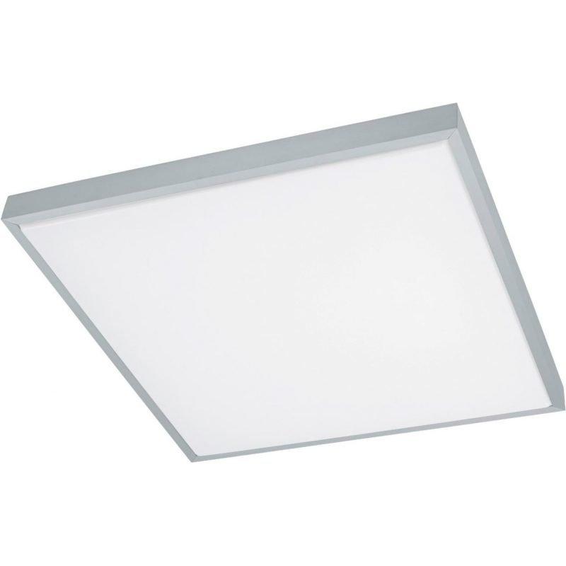 Eglo LED-plafondi Idun 1 58x58 cm alumiini valkoinen