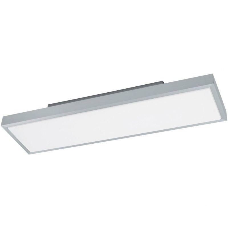 Eglo LED-plafondi Idun 1 75x20 cm alumiini valkoinen