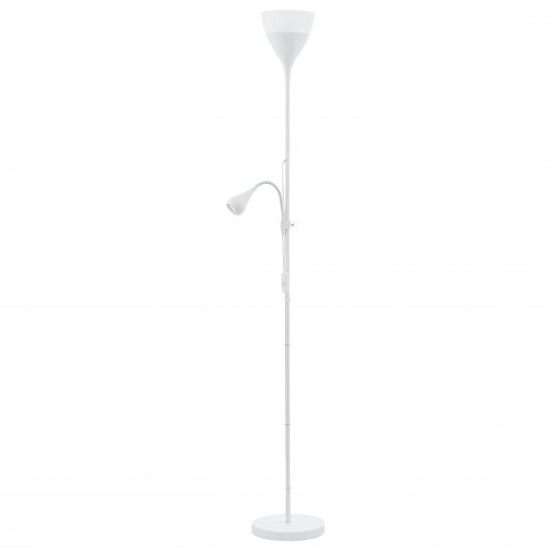 Eglo Lattiavalaisin lukuvalolla LED SPELLO 2 176 cm valkoinen