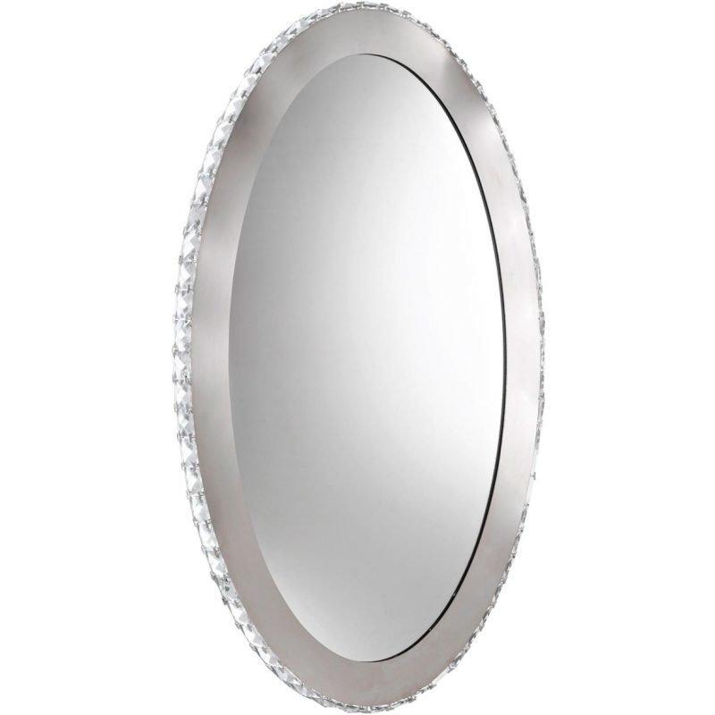 Eglo Peilivalaisin LED Toneria 51 cm kromi kristalli