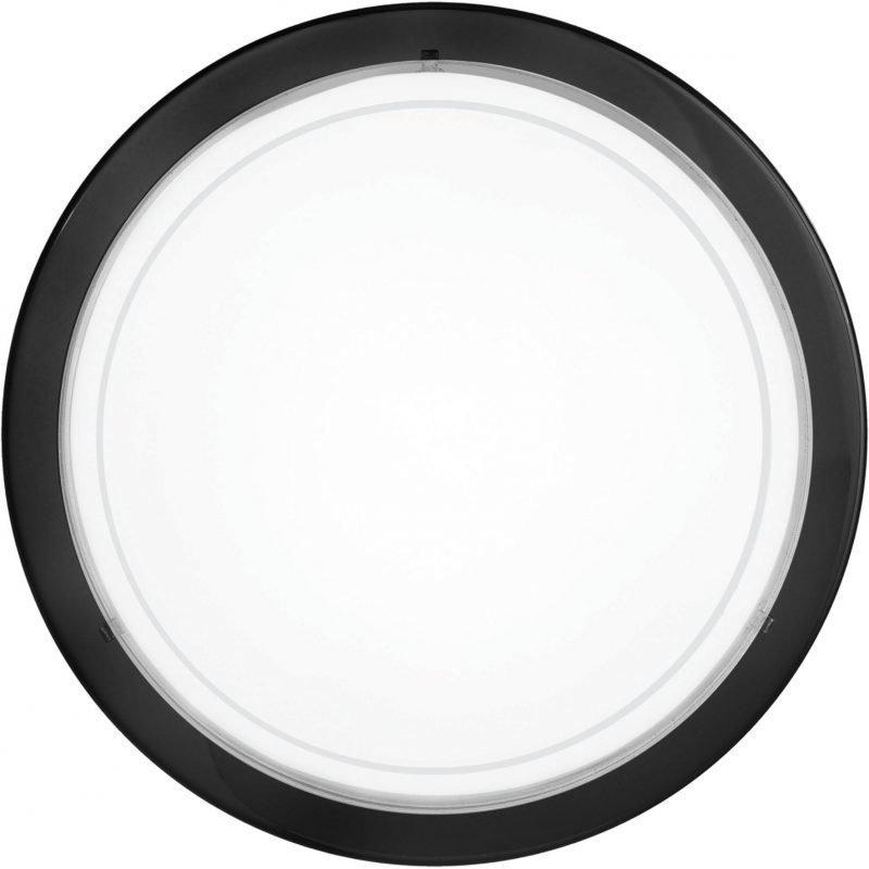 Eglo Plafondi PLANET 1 Ø 29 cm musta