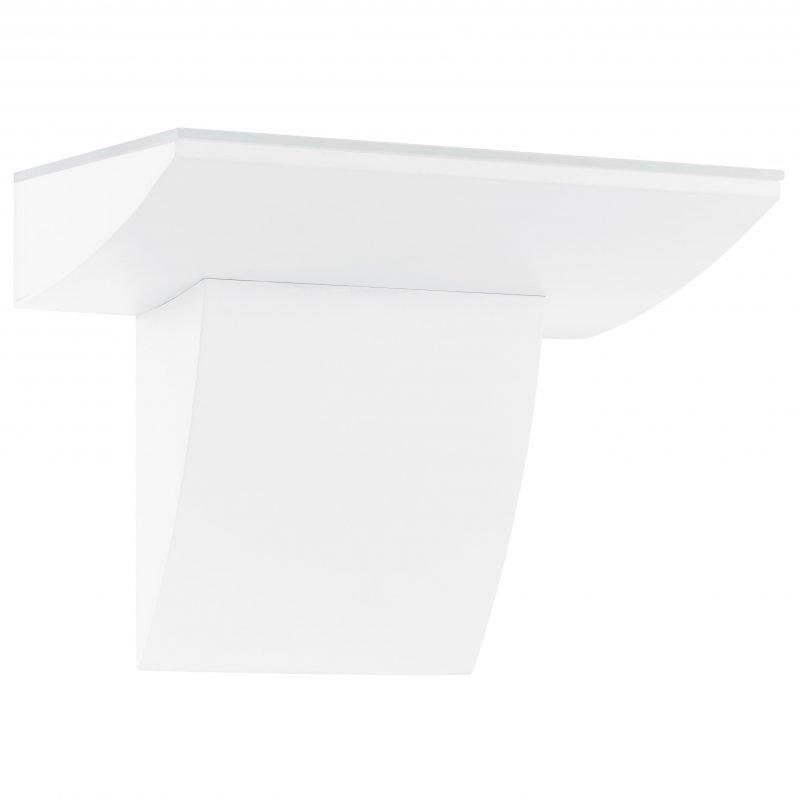 Eglo Seinävalaisin ulos FONTELA LED alumiini valkoinen IP44