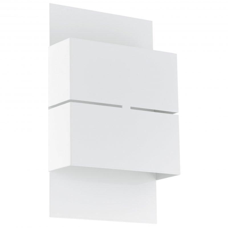 Eglo Seinävalaisin ulos KIBEA LED galvanoitu teräs valkoinen IP44