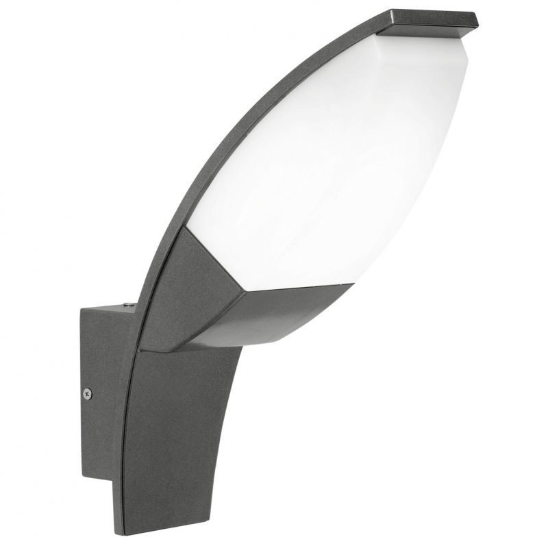 Eglo Seinävalaisin ulos PANAMA 1 LED antrasiitti/valkoinen IP44