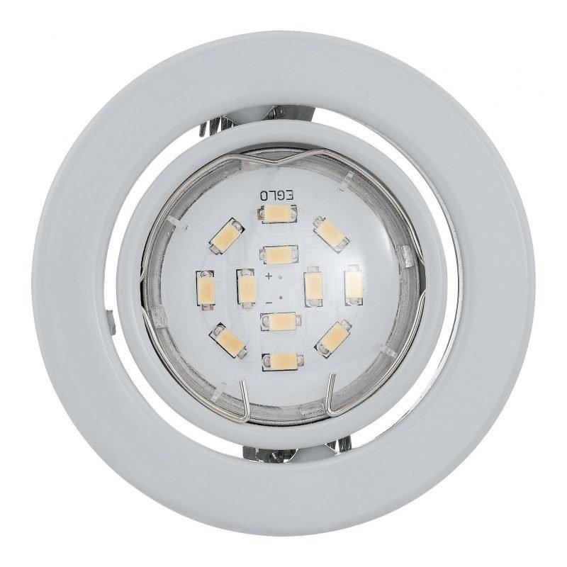 Eglo Spottisetti LED IGOA Ø 9 cm 3x5W upotettava valkoinen