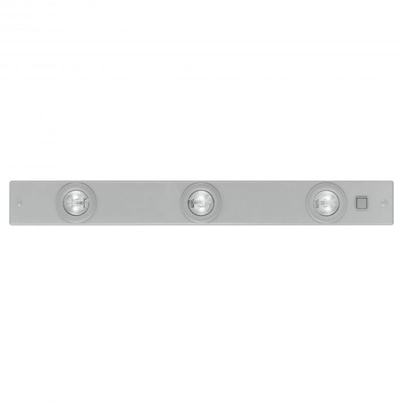 Eglo Työtasovalaisin EXTEND 1 60 cm 3-osainen hopea