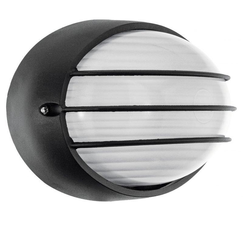 Eglo Ulkoseinä/-kattovalaisin ulos SIONES LED alumiini musta IP44
