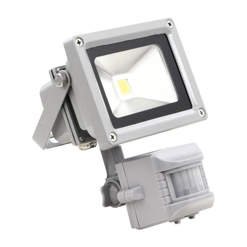 Eglo Valonheitin FADEO LED 10W tunnistimella hopea IP44