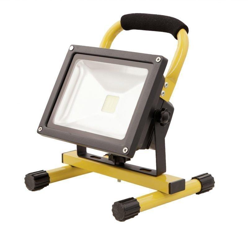Eglo Valonheitin FADEO LED 20W keltainen/musta IP44