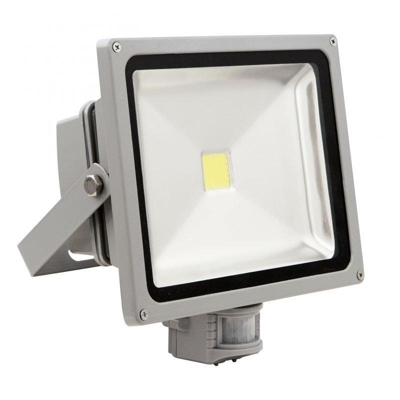 Eglo Valonheitin FADEO LED 30W tunnistimella hopea IP44