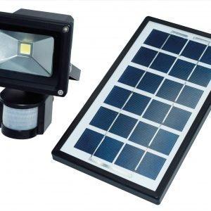 Electrogear Led Liiketunnistinvalaisin Aurinkokennolla 10 W