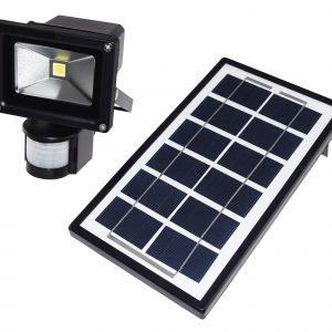 Electrogear Led Valonheitin Aurinkokenno Ja Tunnistin 4 W