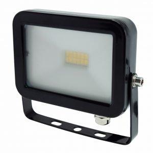 Electrogear Led Valonheitin Musta Litteä 10 W
