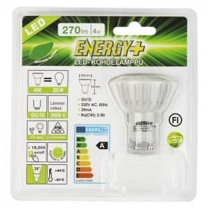 Energy+ Led Lamppu Kohde 4w Gu10 270lm