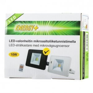 Energy+ Led Valonheitin 10 W Liiketunnistin