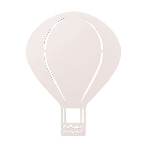 Ferm Living Air Balloon Valaisin Rose Vaaleanpunainen