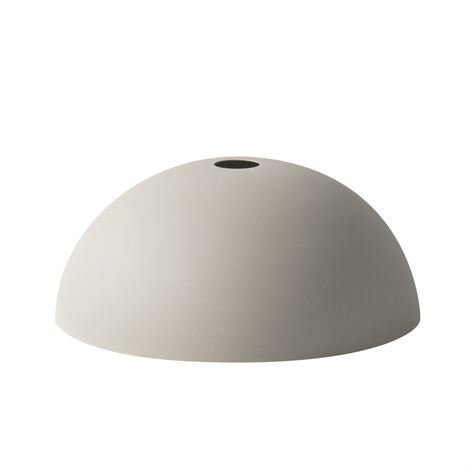 Ferm Living Collect Lampunvarjostin Dome Vaaleanharmaa