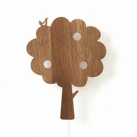 Ferm Living Lastenvalaisimet Puu