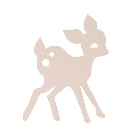 Ferm Living My Deer Valaisin Vaaleanpunainen Vaaleanpunainen