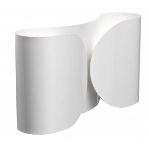 Flos Foglio Seinävalaisin Valkoinen