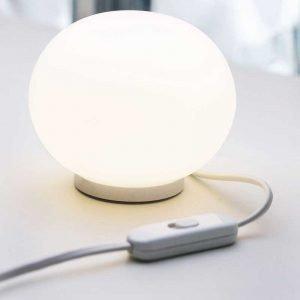Flos Mini Glo Ball T Pöytävalaisin Valkoinen