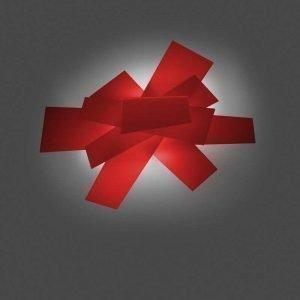 Foscarini Big Bang Kattovalaisin / Seinävalaisin Punainen