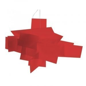 Foscarini Big Bang Riippuvalaisin Punainen Led