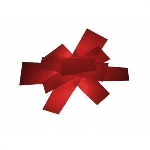 Foscarini Big Bang Seinävalaisin / Kattovalaisin Punainen
