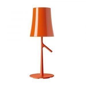 Foscarini Birdie Pöytävalaisin S Oranssi