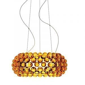 Foscarini Caboche Kattovalaisin Medium Keltainen Kulta