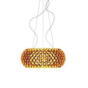 Foscarini Caboche Lamppu L Kellertävä / Kulta Led