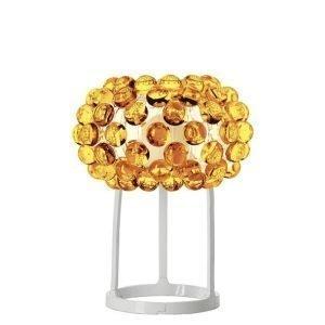 Foscarini Caboche Pöytävalaisin Keltainen Kulta
