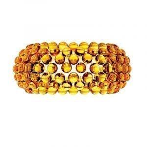 Foscarini Caboche Seinävalaisin Medium Keltainen Kulta