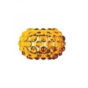 Foscarini Caboche Seinävalaisin Pieni Kellertävä Kulta
