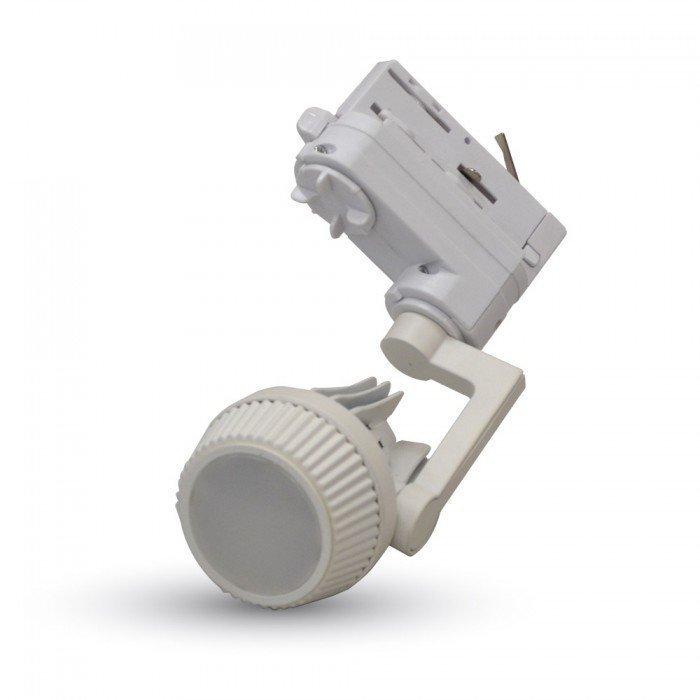 GU10 Kaluste 3-Vaihe LED Kiskovalo Järjestelmälle Valkoinen