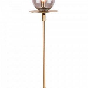Globen Lighting Art Deco Pöytävalaisin Messinkiä