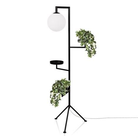 Globen Lighting Astoria Lattiavalaisin Musta